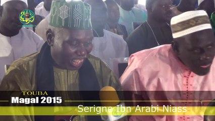 Magal de Touba 2015: Intervention de Serigne Ibn Arabi Niass