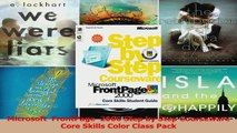 Read  Microsoft  FrontPage  2000 Step by Step Courseware Core Skills Color Class Pack Ebook Free