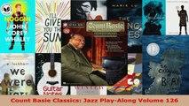 Read  Count Basie Classics Jazz PlayAlong Volume 126 Ebook Free