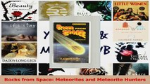 Read  Rocks from Space Meteorites and Meteorite Hunters PDF Free