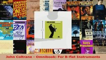 Download  John Coltrane  Omnibook For Bflat Instruments Ebook Free