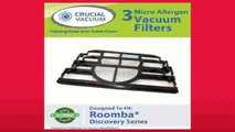 Best buy Vacuum Cleaning Robot  3pack Filter Kit Fits iRobot Roomba Discovery Series Vacuum Cleaners Compare to Roomba