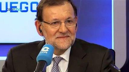 """Rajoy sobre la petición del Elíseo: """"No se ha recibido y la posición que mantengo es la de siempre"""""""