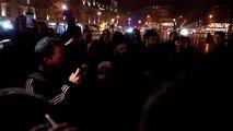 Madonna rend hommage aux victimes des attentats en chantant Ghosttown Place de la République