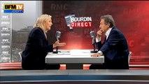 """Marine Le Pen: """"Monsieur Estrosi et Monsieur Bertrand deviennent des candidats de gauche"""""""