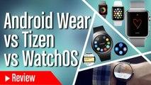 Comparamos Apple Watch con Android Wear y Tizen ¿Cuál es mejor