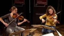 Quatuor Voce interprète le troisième mouvement de l'opus op. 67 de Johannes Brahms |Le live de la Matinale