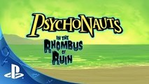 PlayStation Experience 2015: Psychonauts in the Rhombus of Ruin - Announce Teaser Trailer   PS4
