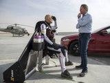 La Jaguar XJR face à « Jetman » : qui va l'emporter ?