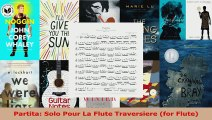 Download  Partita Solo Pour La Flute Traversiere for Flute EBooks Online