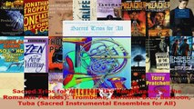 Download  Sacred Trios for All From the Renaissance to the Romantic Periods Trombone Baritone PDF Online