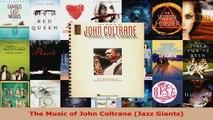 Read  The Music of John Coltrane Jazz Giants Ebook Free