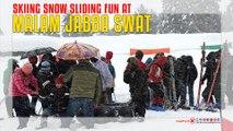 Skiing Snow Sliding Fun At Malam Jabba Swat