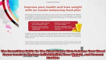 The Everything Guide To The Blood Sugar Diet Balance Your Blood Sugar Levels to Reduce