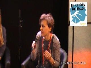 Les remerciements de Clémentine Beauvais et Françoise Dargent pour le prix NRP littérature jeunesse