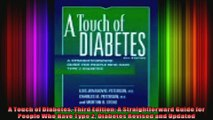A Touch of Diabetes Third Edition A Straightforward Guide for People Who Have Type 2