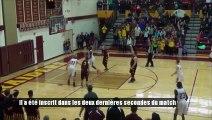 Un panier incroyable lors d'un match inter-lycées aux Etats-Unis