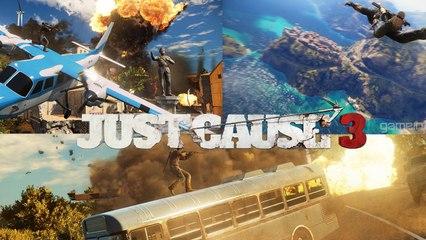 Just Cause 3 | Sandbox Gameplay Trailer HD 1080p 30fps - E3 2015