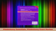 PDF Download  Phlebotomy Essentials Phlebotomy Exam Review Read Full Ebook