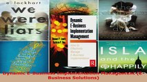 Read  Dynamic EBusiness Implementation Management EBusiness Solutions Ebook Free
