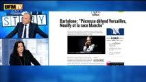 """Claude Bartolone sur la """"race blanche"""": Emmanuelle Cosse n'""""aurait pas dit la même chose"""""""