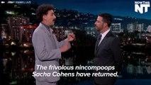 Sacha Baron Cohen Breaks Out The Borat Impression To Rip Trump On Kimmel