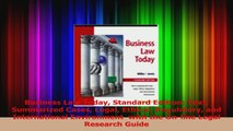 PDF Download  Business Law Today Standard Edition Text Summarized Cases Legal Ethical Regulatory and Download Full Ebook