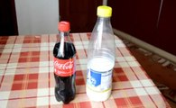 Watch What Happens When You Put Milk in Coca-Cola