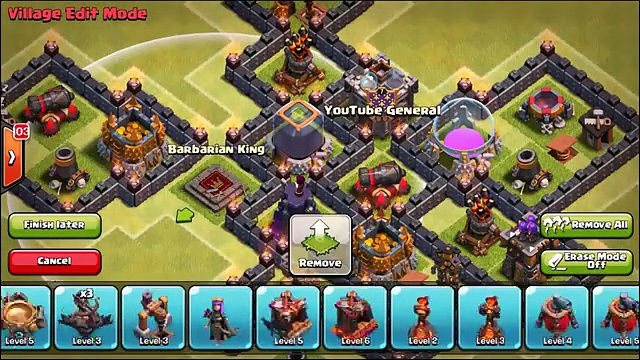 Clash Of Clans   EPIC TOWN HALL 8 FARMING BASE! TH8 Farming Defense Strategy 2015!