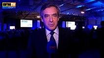 """François Fillon: """"Pas de dynamique d'alternance avec le FN"""""""