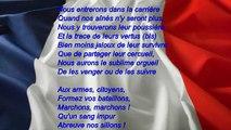 La Marseillaise : couplet 7 - dit couplet des enfants