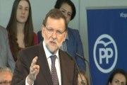 Rajoy promete medidas para ayudar a jóvenes, autónomos y mayores