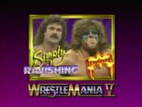 WWF Wrestlemania V - Rick Rude Vs. The Ultimate Warrior