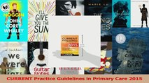 Read  CURRENT Practice Guidelines in Primary Care 2015 Ebook Free