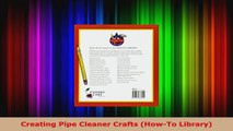 Read  Creating Pipe Cleaner Crafts HowTo Library Ebook Free