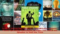 Read  PUBLIC SPEAKING MASTERY  Speak Like a Winner Public Speaking Techniques to Make You EBooks Online