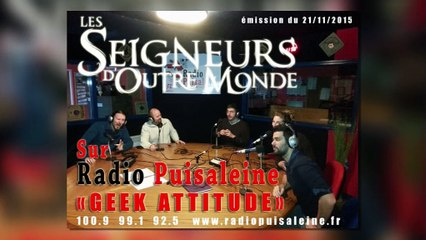 "LSOM émission ""GEEK ATTITUDE"" à radio Puisaleine 21/11/2015"
