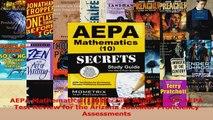 AEPA Mathematics 10 Secrets Study Guide AEPA Test Review for the Arizona Educator PDF