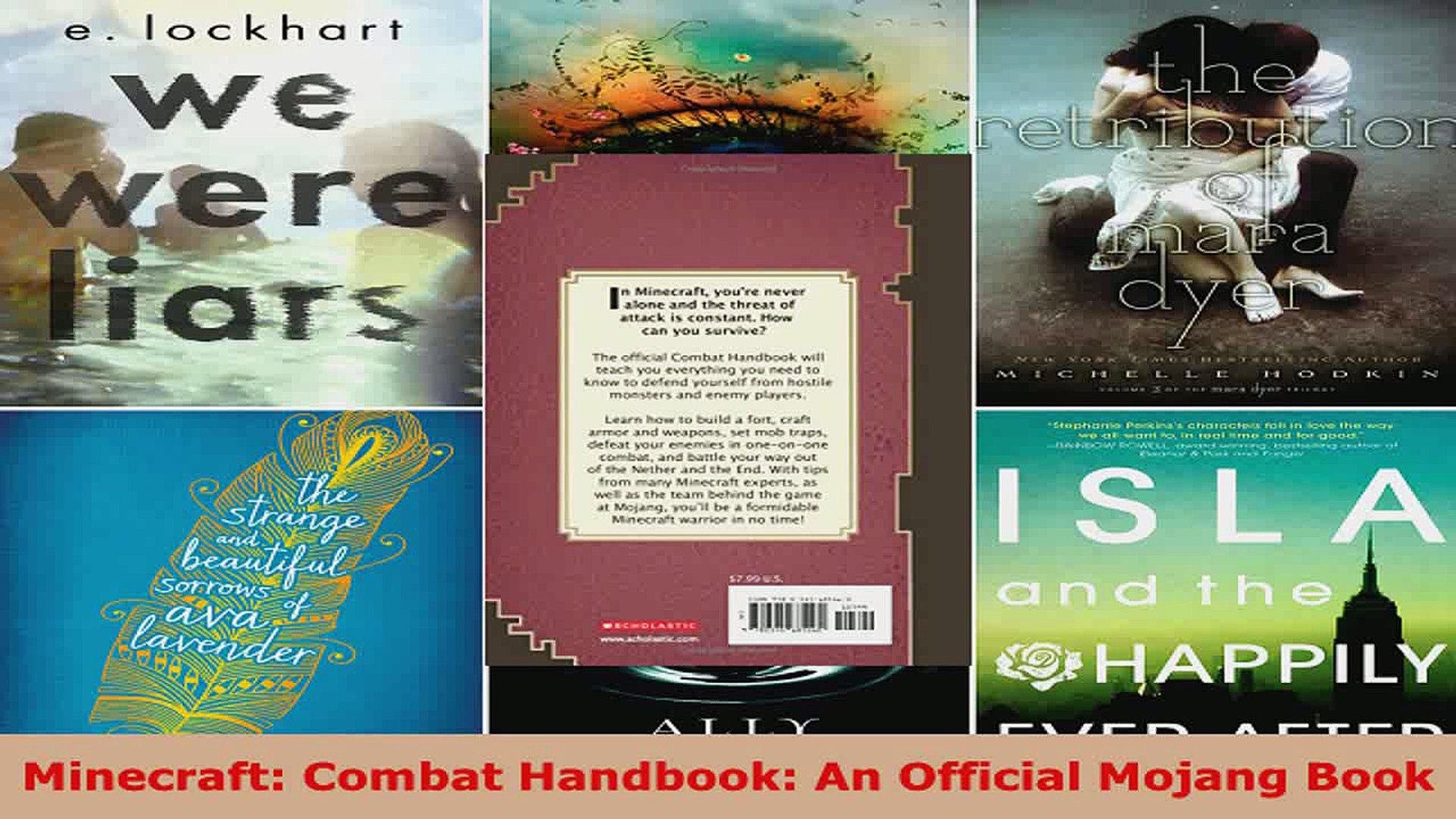 Read Minecraft Combat Handbook An Official Mojang Book Ebook Free