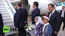Putin arrives in Turkey ahead of G20 summit