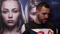 UFC Fight Night 80's Santiago Ponzinibbio post fight interview