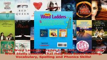 Read  Daily Word Ladders Grades 12 150 Reproducible Word Study Lessons That Help Kids Boost EBooks Online