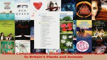 Download  Collins Complete British Wildlife The Definitive Guide to Britains Plants and Animals PDF Free