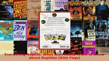 Read  Everything Reptile What Kids Really Want to Know about Reptiles Kids Faqs Ebook Free