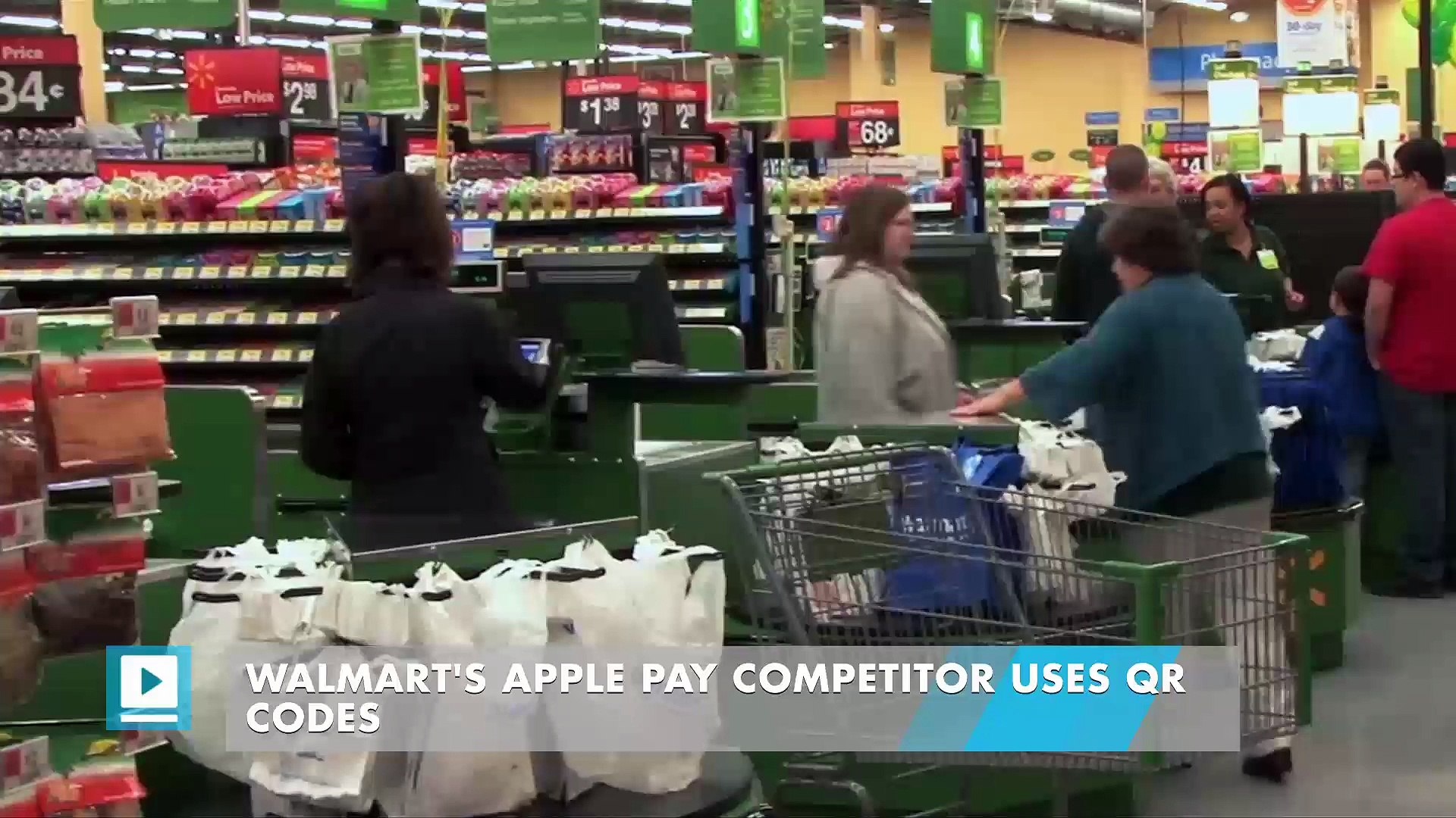 Walmart's Apple Pay competitor uses QR codes
