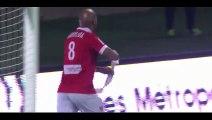 Toifilou Maoulida Goal - Nimes 2-2 Le Havre - 11-12-2015