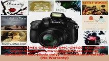 BEST SALE  Panasonic LUMIX GH4 Body DMCGH4GCK 1605MP Digital Single Lens Mirrorless Camera with 4K