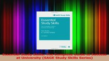 Essential Study Skills The Complete Guide to Success at University SAGE Study Skills PDF