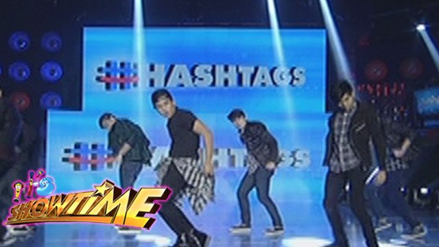 "It's Showtime: Hashtag boys perform ""Sumayaw Ka"""