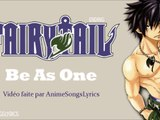 Fairy Tail ED 6 -『Be As One』- Original/Français